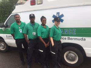 SJA-ambulance-crew-Bermuda-October-2015